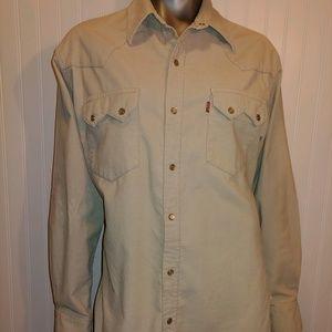 Levi's Red Tab Tan Corduroy Shirt/Jacket - Med